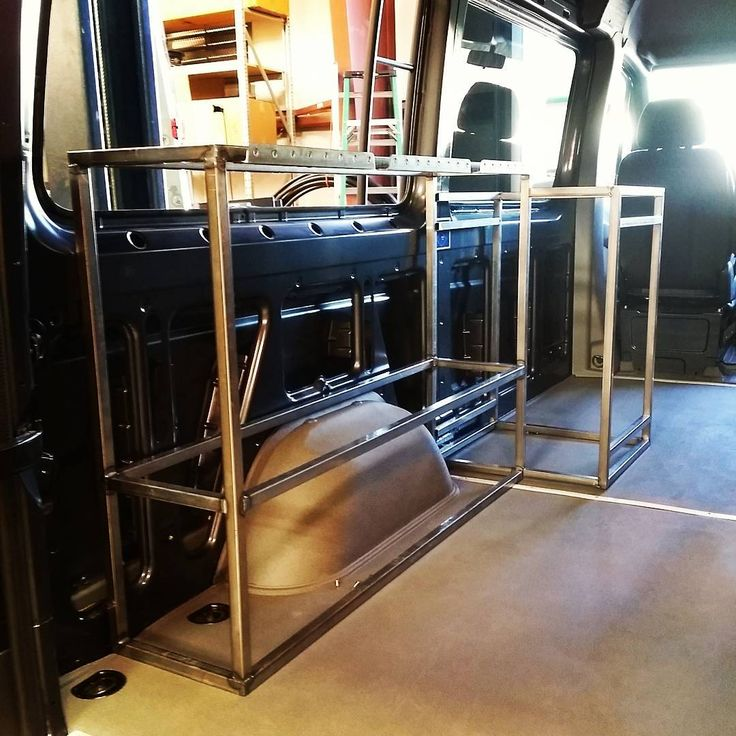 Bed And Galley Refrigerator Sub Structures Going Together Nicely For Week End Warrior Luftkraftfab