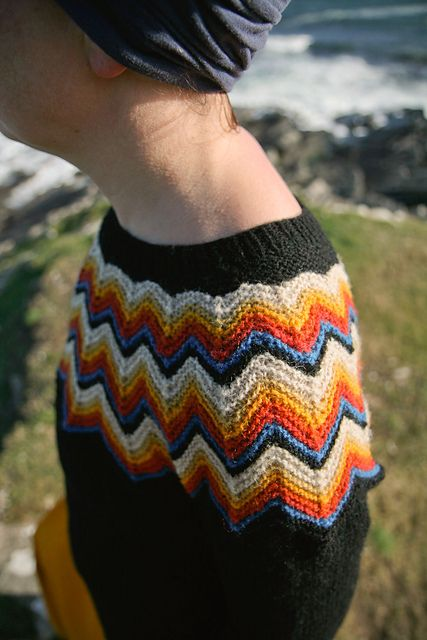 Ravelry: Puffin Sweater pattern by Kate Davies Knits, Knitted, Knitting P...