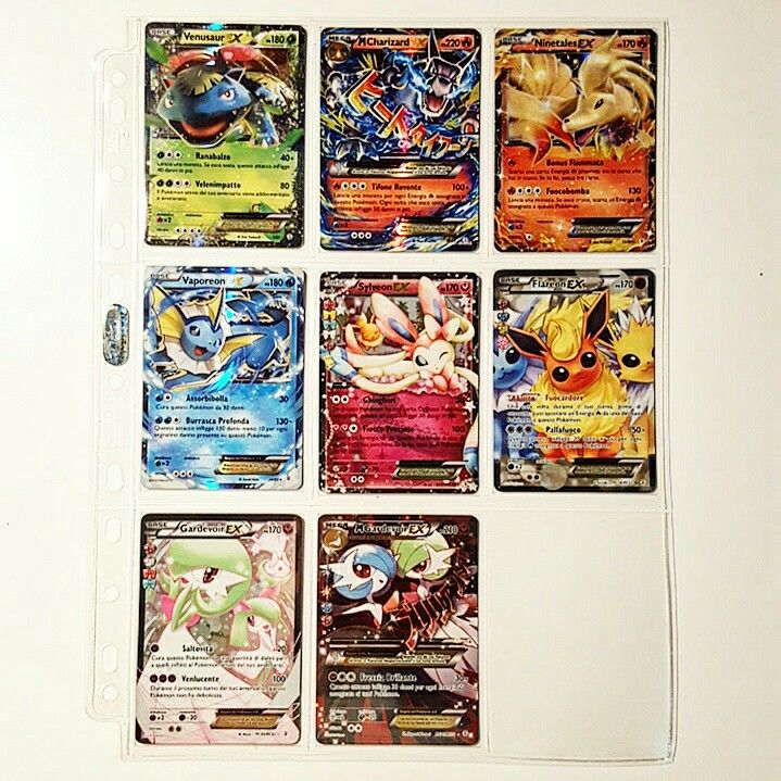 All the EX cards of Pokémon Generations expansion