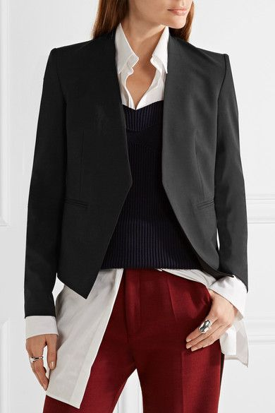 Theory | Lanai stretch-wool blazer | NET-A-PORTER.COM