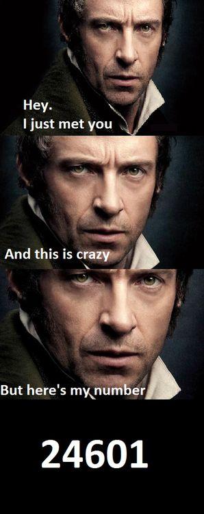 Les Miserables meets Carly Rae Jepsen @Emily Moses hahaha
