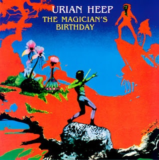 Uriah Heep - The Magician's Birthday by Roger Dean