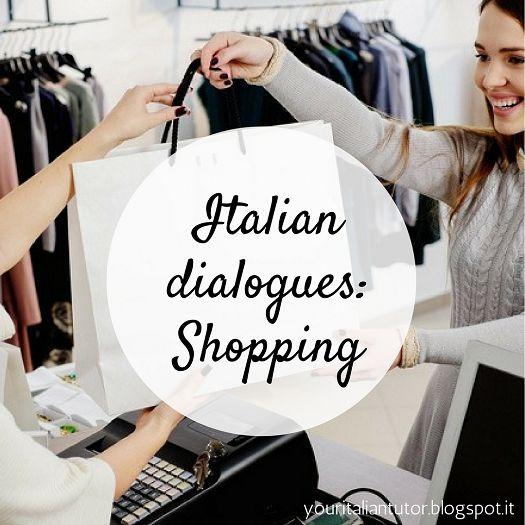 Italian lesson: In a clothes shop / In un negozio di abbigliamento