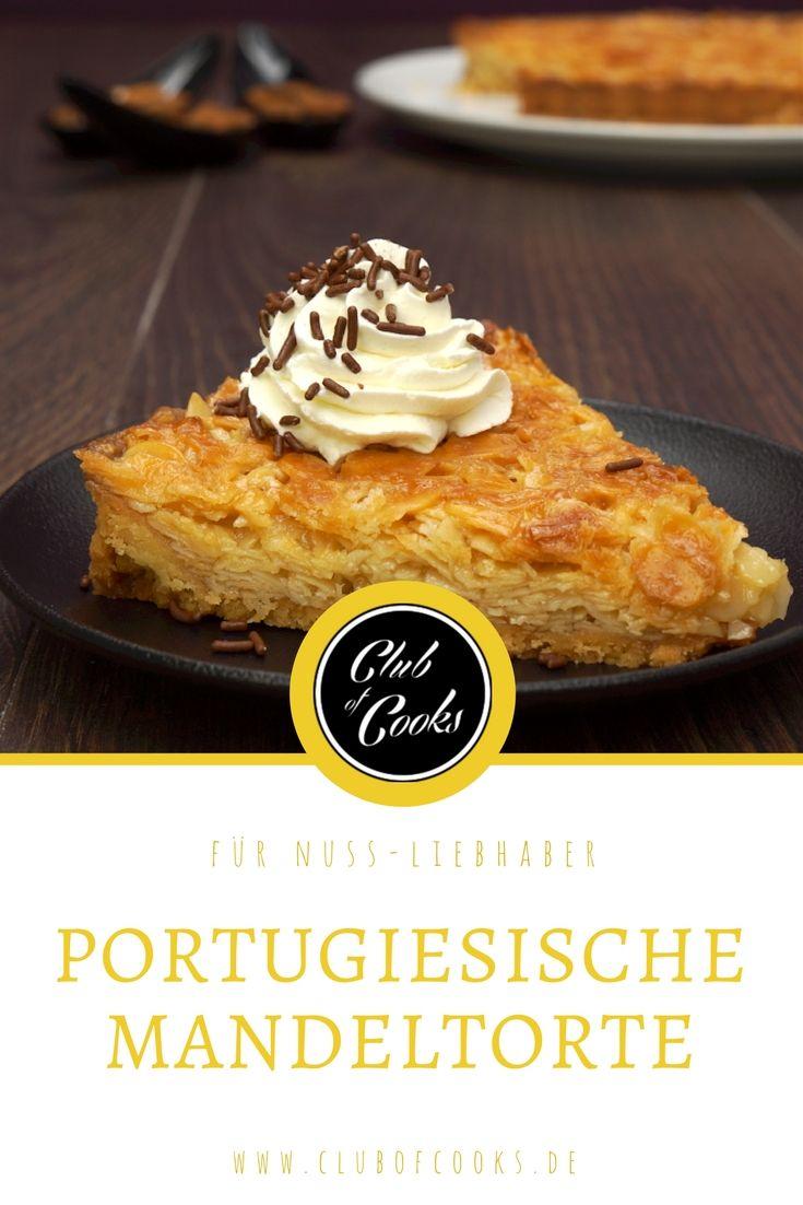 Portugiesische Mandeltorte Rezept In 2019 Kuchen Cooking