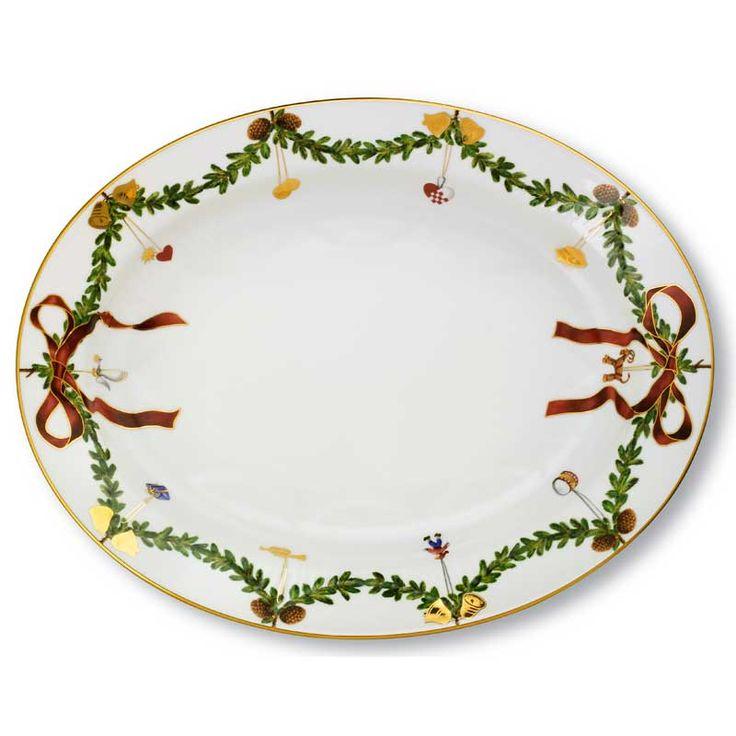 Fat, Starfluted Christmas - Royal Copenhagen - Royal Copenhagen - RoyalDesign.no