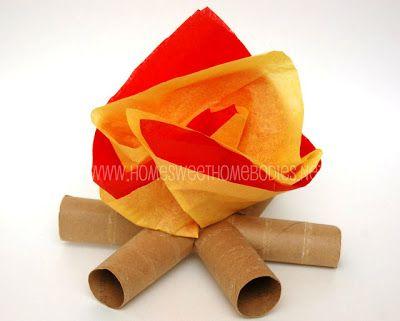 ATELIER CHERRY: Festa junina com rolos de papel