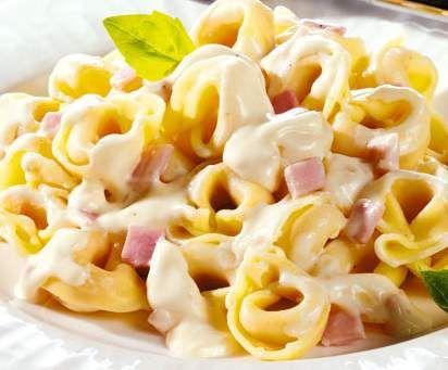 Schinken-Käse Soße für Pasta
