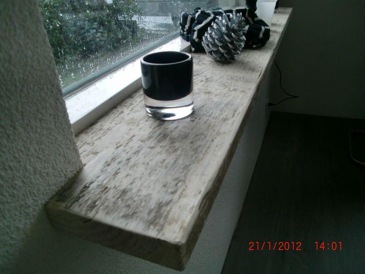 houten vensterbank