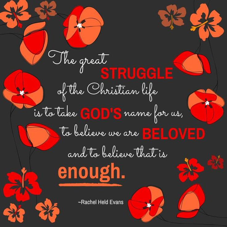 """""""The Great Struggle Of The Christian Life Is To Take God's"""