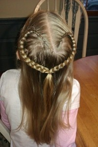 The Heart Braid: Perfect for Valentine's Day