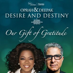 I love my morning meditation with Oprah and Deepak!! They've given a gift a day for seven days! Day 1 was a meditation of Attraction! PSA: Meditate Daily