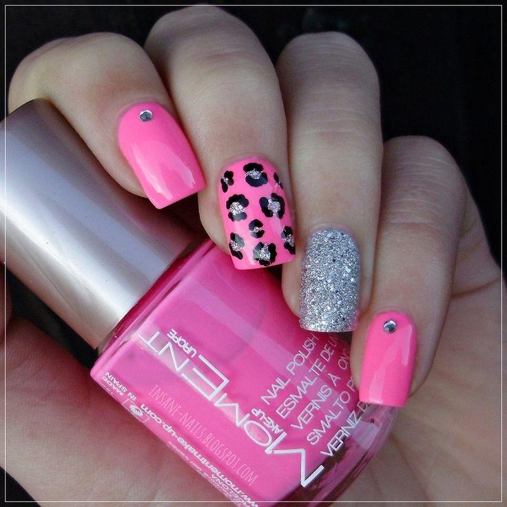Diy Snow Leopard Nail Art: Best 10+ Pink Leopard Nails Ideas On Pinterest