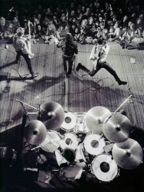 The Clash, Berkeley Community Center, CA - Feb 7th, 1979 (photo by Roger Ressmeyer)