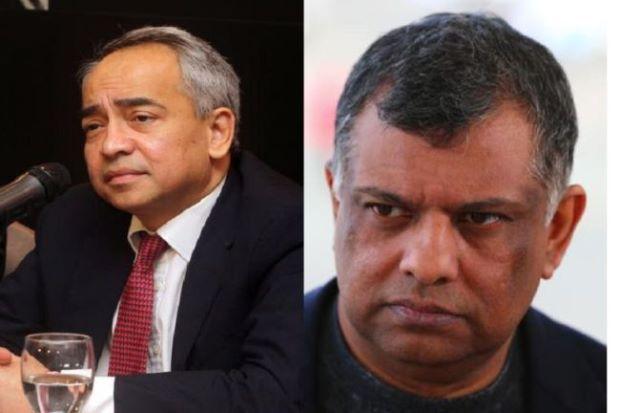 Tony Fernandes, Nazir Razak Kutuk Penggantungan The Edge - http://malaysianreview.com/135139/tony-fernandes-nazir-razak-kutuk-penggantungan-the-edge/