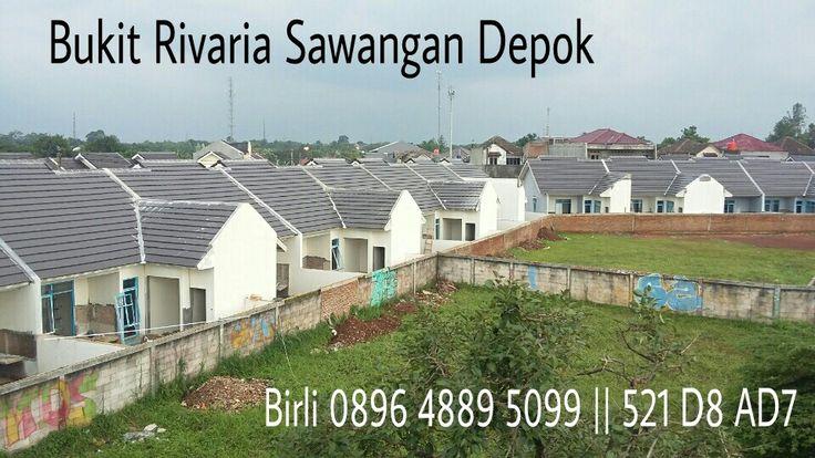Rumah dijual, bukit rivaria sawangan depok. Birli 089648895099 || 521D8AD7. Gapura prima