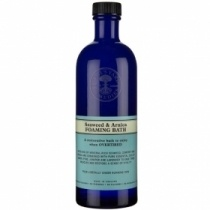Seaweed and Arnica Foaming Bath oil from Neal's Yard - great for fatigue and sore muscles.