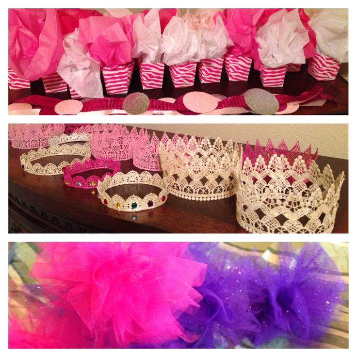 Party decor - pink