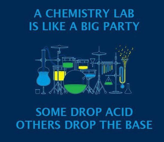 Chem lab... Hahaha. This is very accurate, actually.