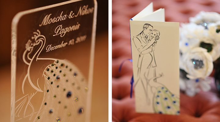 Astrid Mueller Exclusive wedding illustrations and design elements