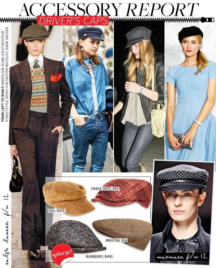 Accessory Report: Driver's Caps - Celebrity Style and Fashion from WhoWhatWear