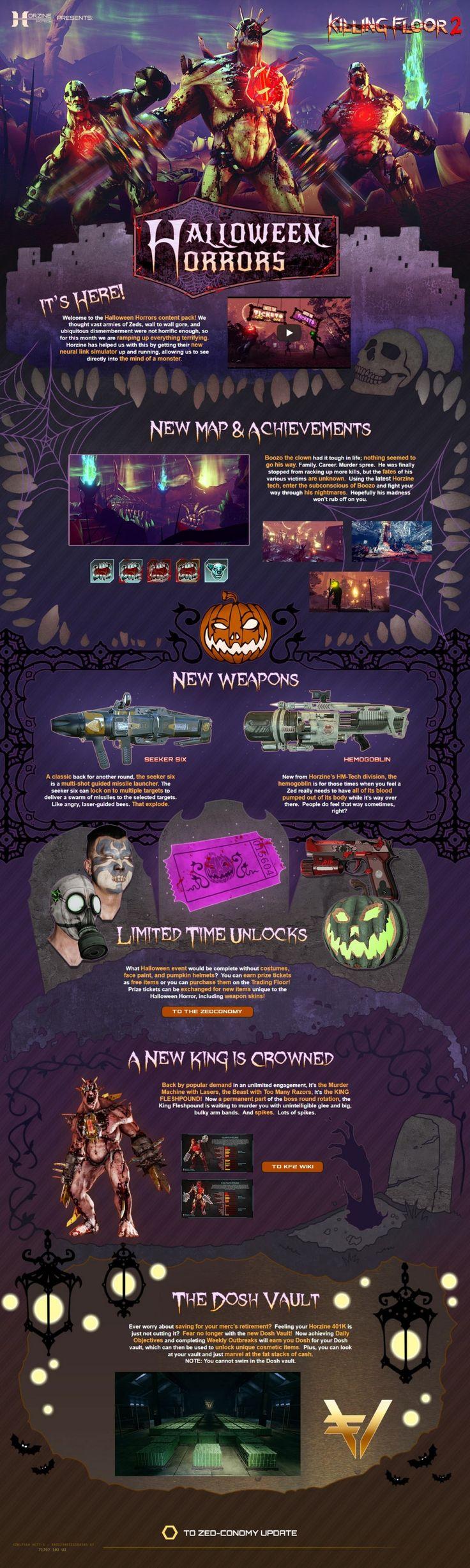 Für Killing Floor 2 kann bald ein kostenloses Halloween-Update heruntergeladen werden.