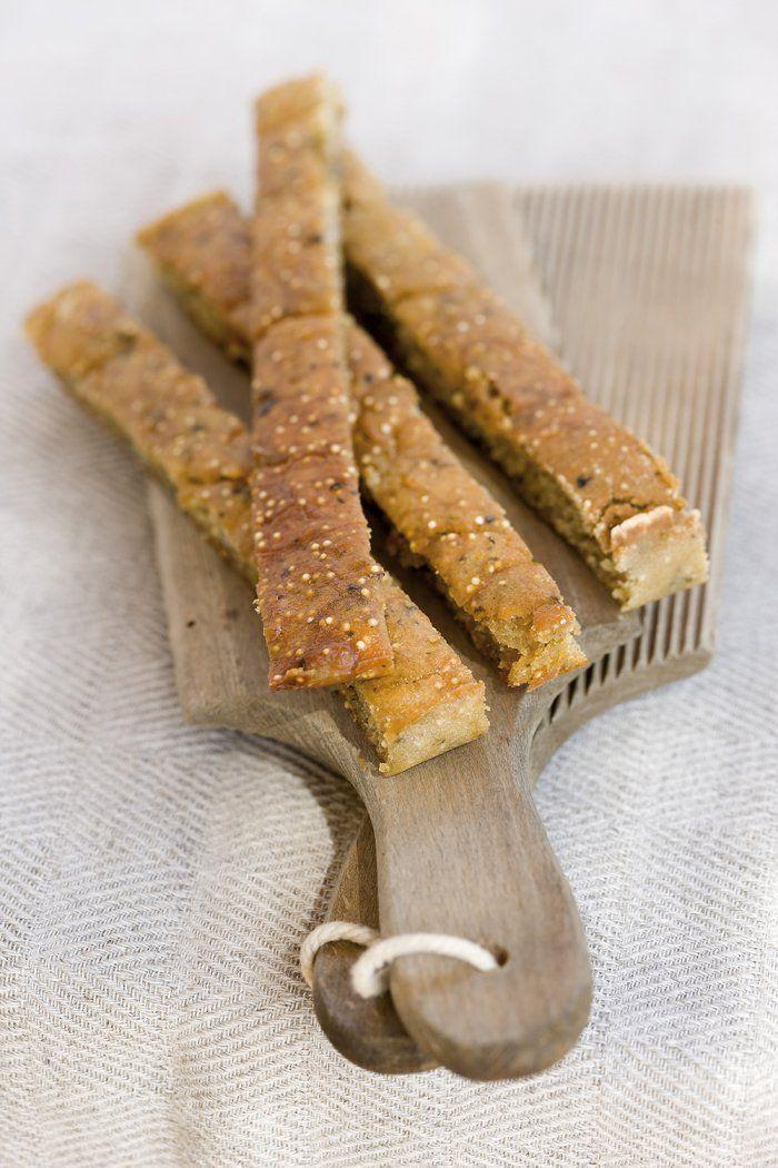Sticks d'amarante et quinoa