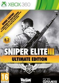 Sniper Elite III Ultimate Edition Xbox 360 Game This Sniper III Ultimate Edition contains the acclaimed main thrilling game as well as a ton of additional DLC content in one explosive package Includes 3 additional single player missions 6 additiona http://www.comparestoreprices.co.uk/january-2017-6/sniper-elite-iii-ultimate-edition-xbox-360-game.asp