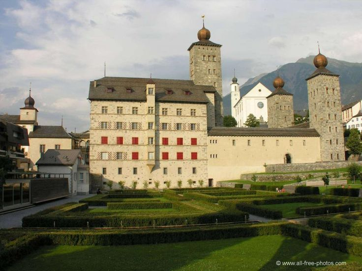 Castillo de Stockalper - Brig - Suiza