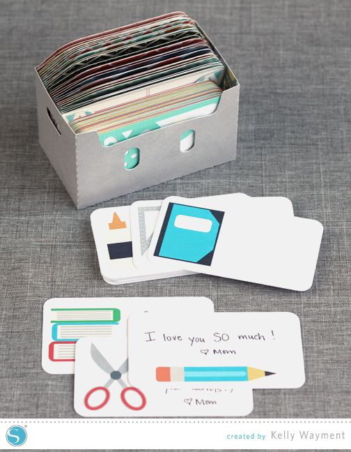School Lunchbox Notes by Kelly Wayment for Silhouette