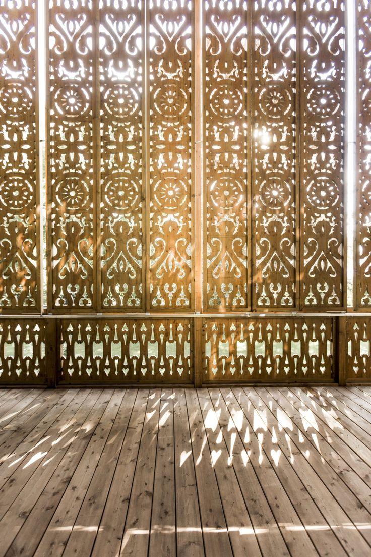 Orientalische Tapete - Villa am See in Österreich