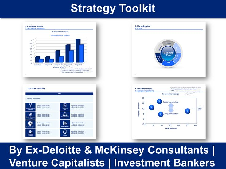 Best Simple Business Plan Template By ExMcKinsey Consultants - Mckinsey business plan template