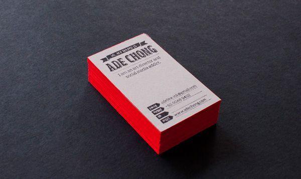 Ade Chong Business Cards