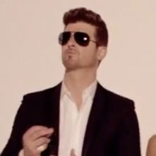 "Revealing the mystery behind the song of the summer: What does rhyme with ""hug me""? #blurredlines #thicke"