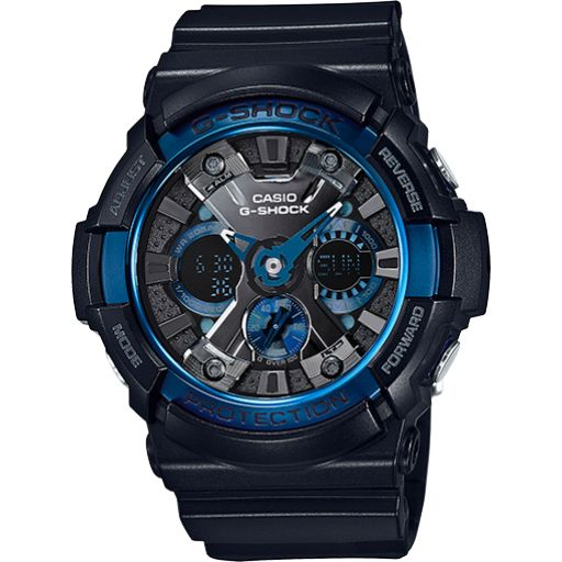 Casio G-Shock Magnetic/Shock Resistant Watch (GA200CB-1ACR)