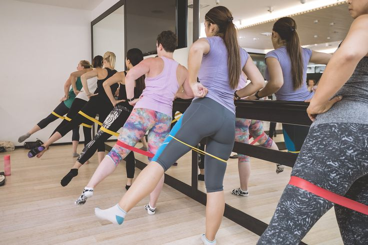 As well as standing exercises using the ballet barre you