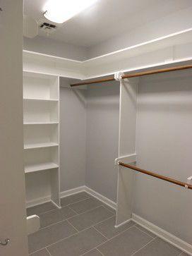 Incredible Small Walk-in Closet Ideas & Makeovers   Small Walk in #Closet Ideas and Organizer #Design