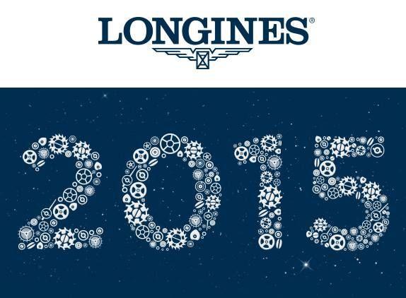 Longines chúc bạn một #Year2015 rất thành công!  http://www.donghotantan.vn/dong-ho-longines.html