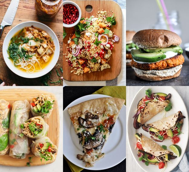 22 Simple Ways To Start Eating Healthier This Year: Start observing Meatless Mondays!