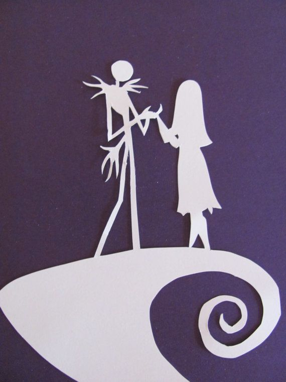 Nightmare Before Christmas Inspired Jack And Sally