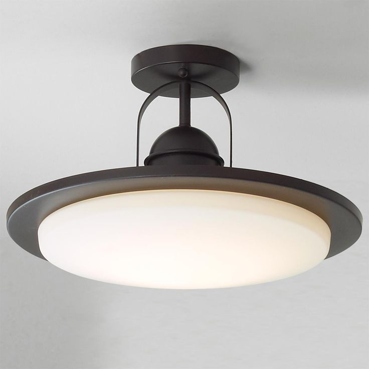 Modern Industrial Minimalist LED Ceiling Light