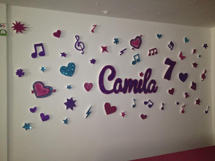 Wall deco violetta Disney