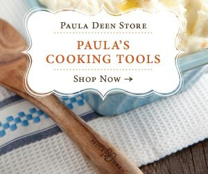 """Paula Dean's webpage. If you're looking for amazing recipes then start here. Be warned...they are in no way considered """"low cal"""""""