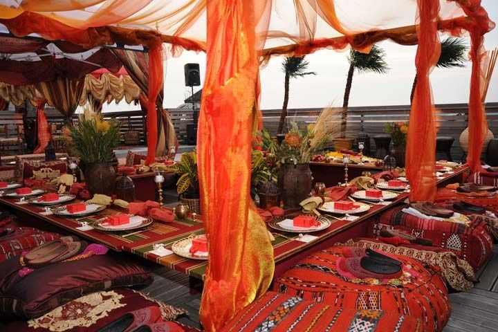 west african themed party