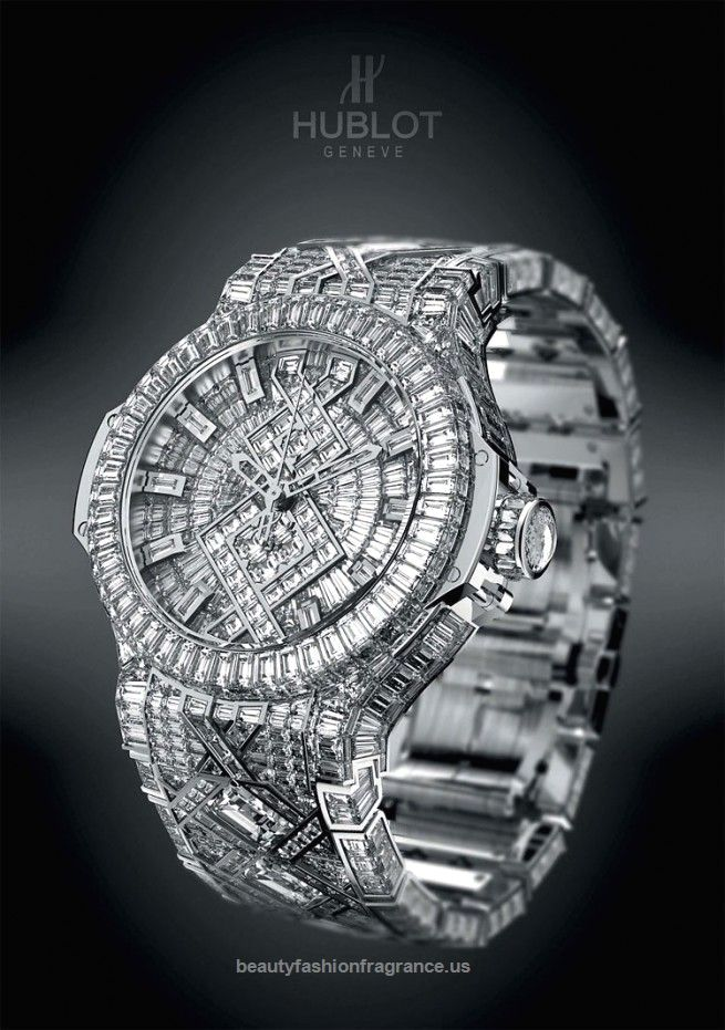 Hublot $5 Million (most expensive watch worldwide) with 1282 diamonds  Hublot $5 Million (most expensive watch worldwide) with 1282 diamonds  http://www.beautyfashionfragrance.us/2017/06/12/hublot-5-million-most-expensive-watch-worldwide-with-1282-diamonds/