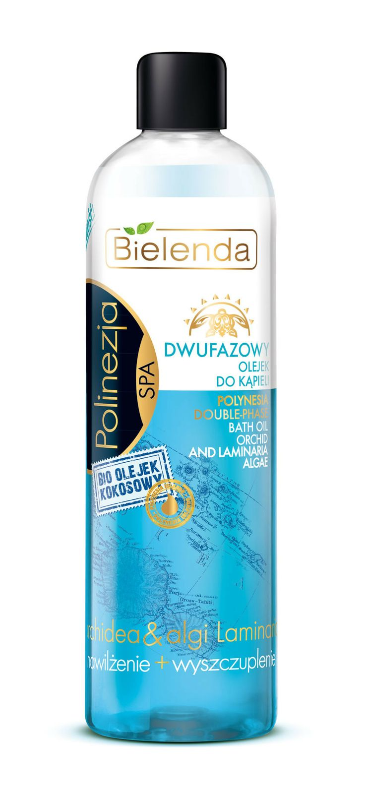 Bielenda POLYNESIA double-phase bath oil 400 ml BI194398 | Visagist