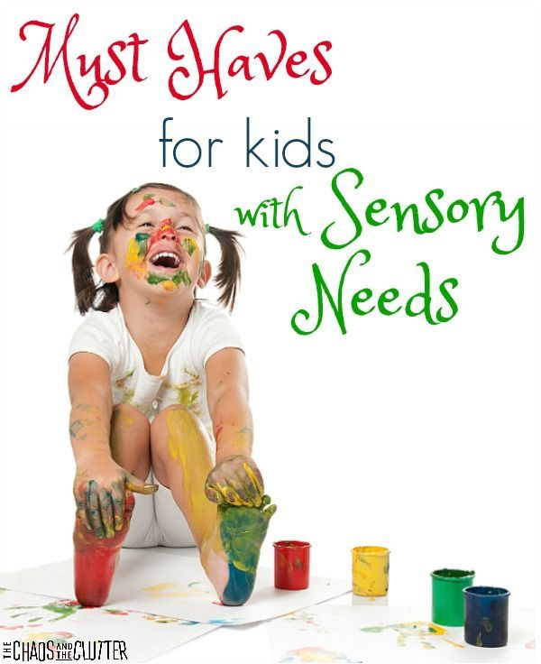Must Haves for Kids with Sensory Processing Disorder (SPD). These are life savers!