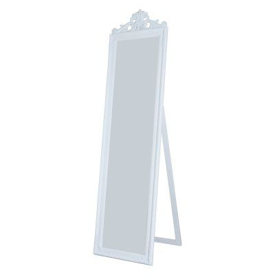 Milton Green Stars Gisela Full Length Mirror - 17.75W x 67H in. - 7056-WHITE, MILT219-5