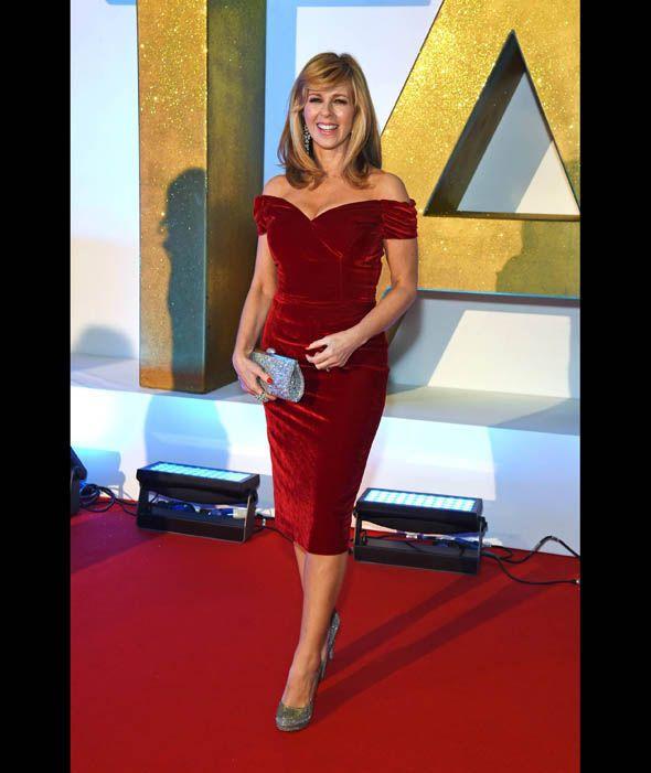 Kate Garraway at the National Television Awards 2016