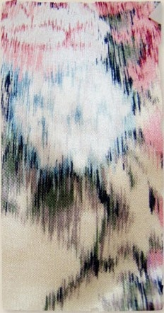 Warp dyed woven IKAT Technique and colour inspiration