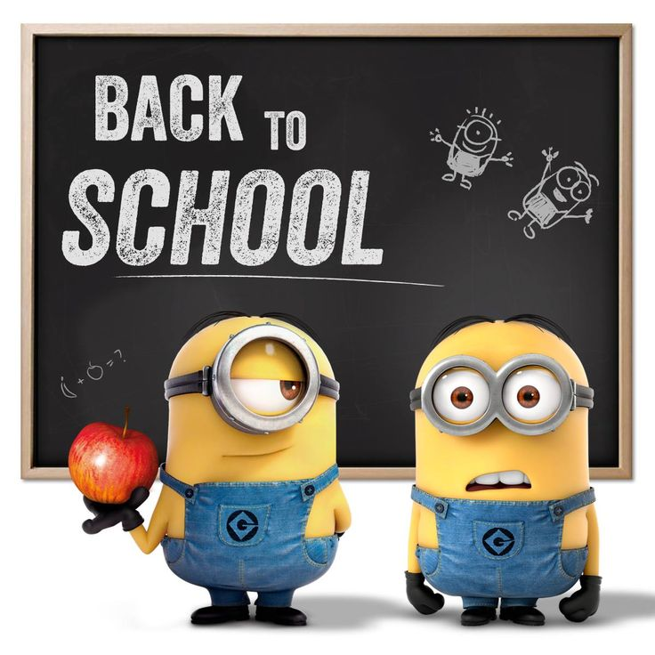 Image result for minion welcome back to school